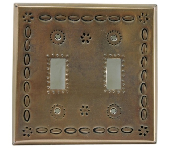 metal switch plate decorative